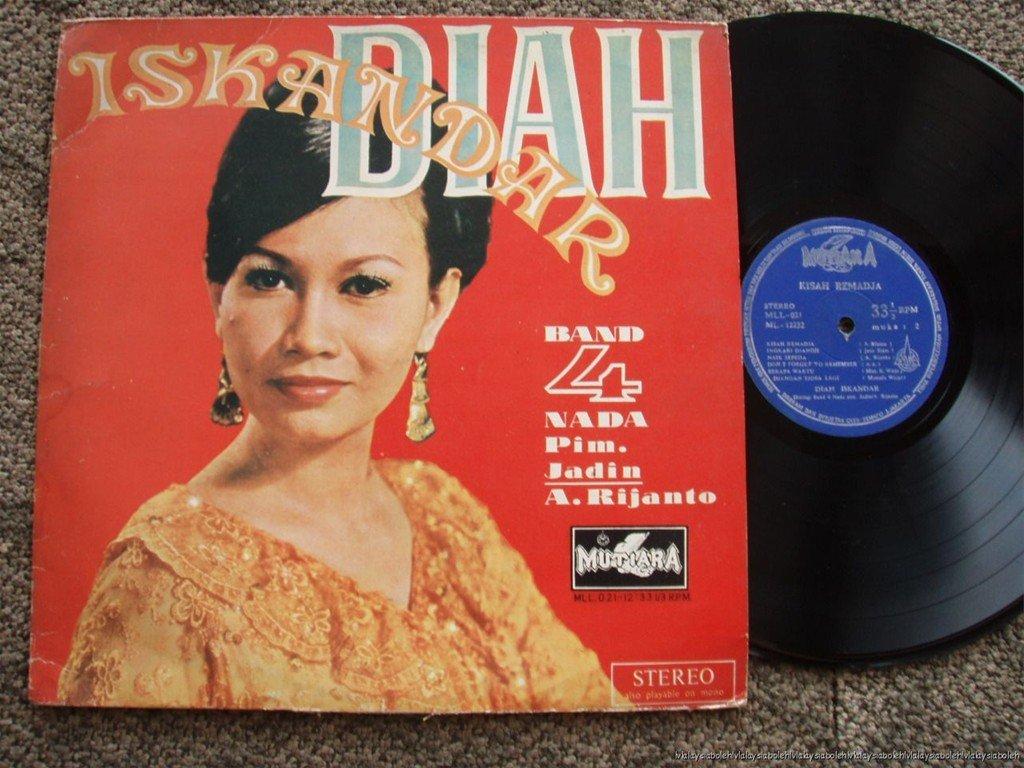 Indonesia Diah Iskandar Malay pop beat LP 021 (144)