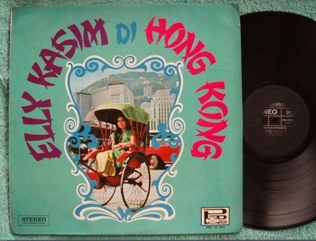 Indonesia Elly Kasim in Hong Kong Malay pop LP 112243 (141)