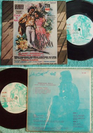Indonesia OST Cinta Pertama picture label Malay EP #100(676)
