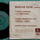 60's Singapore ROSIAH CHIK Malay classic EMI EP #615 (683)