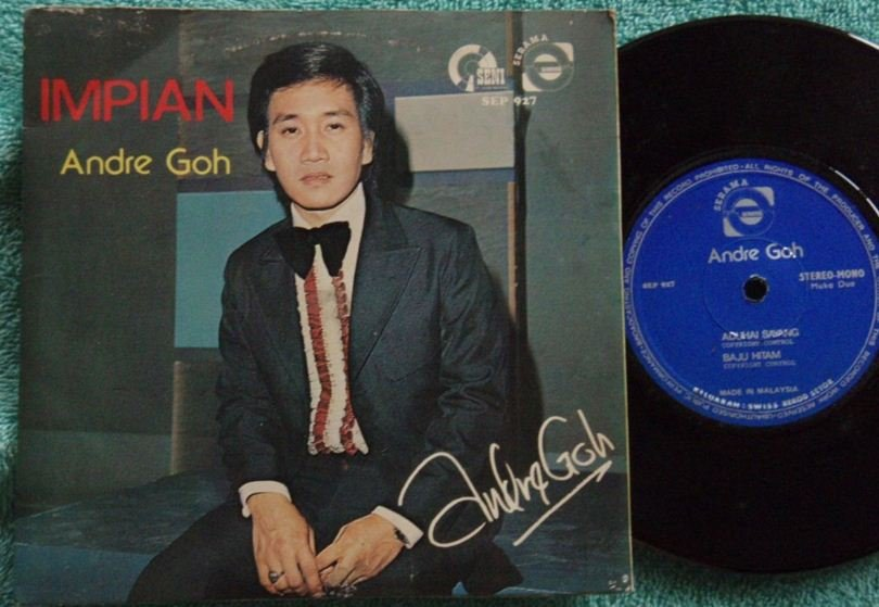 Chinese Andre Goh IMPIAN Malay oriental pop EP 927 (194)