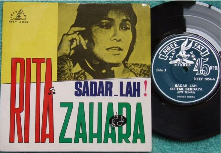 SOLD-Rita Zahara & Dharma Musika Malay pop beat EP 5054 (124)