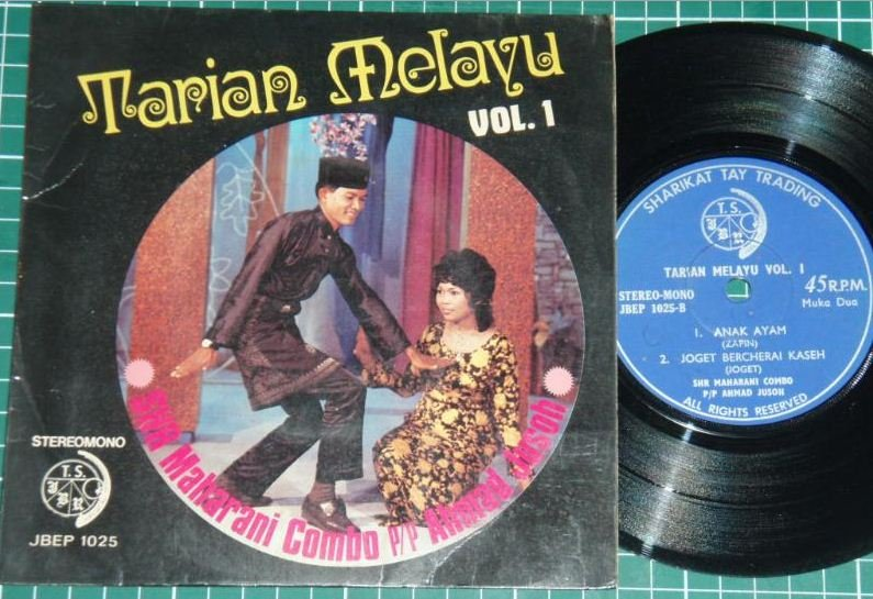 Malaysia Malay Tarian Melayu Dancing Joget EP #1025 (33)