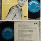 60's Indonesia KUS HENDRATMO Malay pop beat EP #EPLN19 (350)