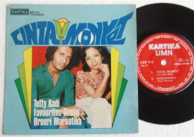 Indonesia TETTY KADI-The FAVOURITES Malay pop EP #KEP010 (491)