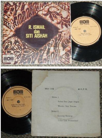 R. Ismail and Siti Aishah Malay pop EP #MEP7005 (515)