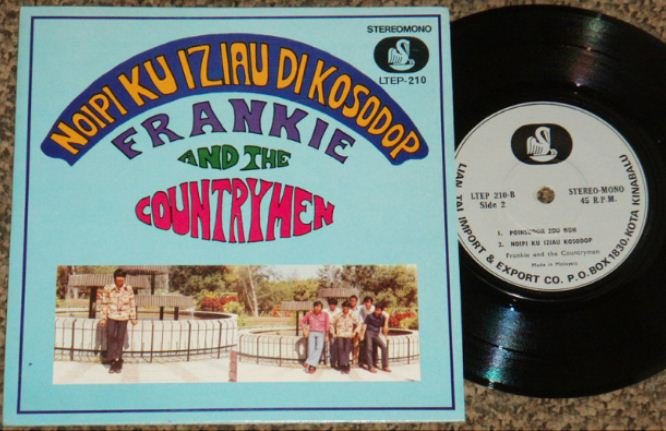 Malaysia FRANKIE and THE COUNTRYMEN garage pop EP #LTEP210 (354)