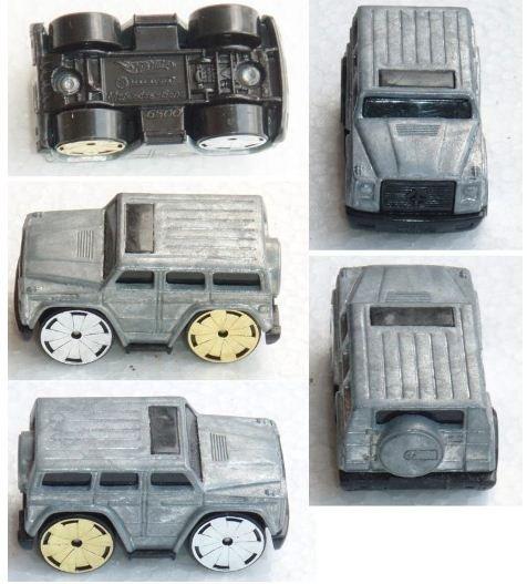 Hotwheels Mercedes Benz prototype diff. color wheel (2)