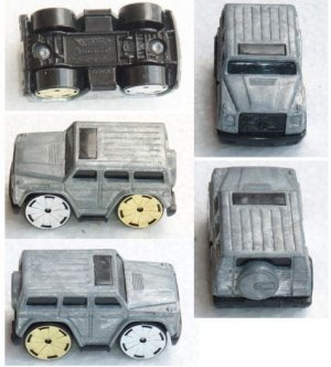 Hotwheels Mercedes Benz prototype diff. color wheel (2)