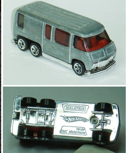 Hotwheels prototype zamac GMC Motorhome (5)