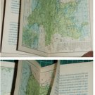Hong Kong 1954 World Map Chinese text booklet-R1