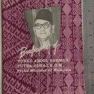 1960's Malaysia PM Biography of TUNKU ABDUL RAHMAN book-R2