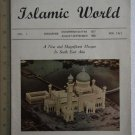 1958 Malaya Singapore Brunei Mosque Islamic World magazine R2