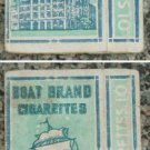 very old Malaya cigarettes pack-BOAT BRAND Tin Yin Ship (Z1)