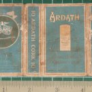 very old cigarettes pack - ARDATH CORK #11-S1