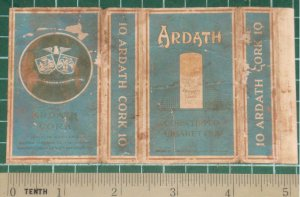 very old cigarettes pack - ARDATH CORK #11-(Z1)