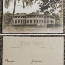 20's Malaya postcard Muar houses # SS17-P3