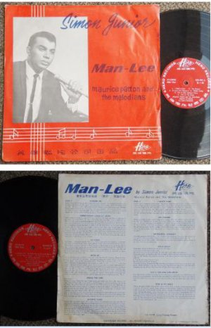 Singapore SIMON JUNIOR Man Lee English LP KH201 (100)