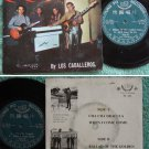 MALAYSIA Phillipines 60's Gaeage Freakbeat Soul Mod LOS CABALLEROS EP (743)