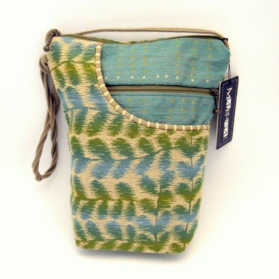 Maruca City Girl Handbag Purse Bag Persia Blue Green Designer Fabric