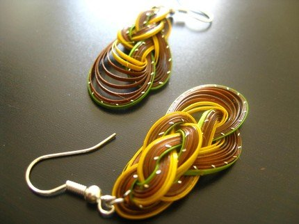 C.O.L.O.R.S Collection BRAIDED UP EARRINGS