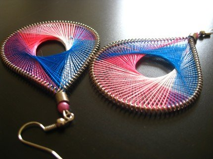 T.H.R.E.A.D Collection FUSCHIA Earrings