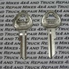 2 Door key blanks for Vintage GM General Motors Chevrolet car and truck Factory OEM