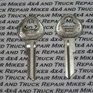 2 Door key blanks for Vintage GM General Motors Chevrolet car and truck Factory OEM