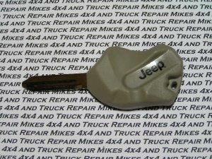 OEM Jeep Cherokee Liberty Wrangler The Rock key blank
