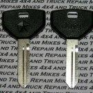 2 Jeep Cherokee Comanche Grand Cherokee Wrangler 1991-1992 factory OEM key blanks keys blank