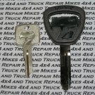 Dodge Viper Ignition and Accessory key blanks keys blank 1994 to 2004 factory OEM
