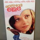 VHS GENTLY USED VIDEO ANYTHING ELSE WOODY ALLEN JASON BIGGS 2003 B53