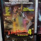 VHS VIDEO A NIGHTMARE ON ELM STREET 4 THE DREAM MASTER USED IN VERY GOOD CONDTION (B20)