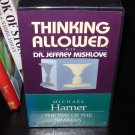 THINKING ALOUD WITH DR JEFFREY MISHLOVE & MICHAEL HARNER THE WAY OF THE SHAMAN VHS TAPE NEW (B1)