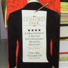 GOSFORD PARK ACADEMY AWARD WINNER MURDER MYSTERY HELEN MIRRIN CLIVE OWEN VHS VIDEO GENTLY USED (B34)
