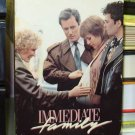 IMMEDIATE FAMILY VHS VIDEO MOVIE STARRING GLENN CLOSE JAMES WOODS GENTLY USED (B37)