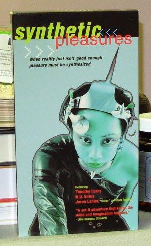 SYNTHETIC PLEASURES VHS VIDEO MOVIE TECHNO DOCUMENTARY SCI FI (B42)