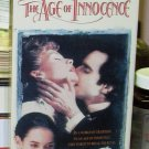 THE AGE OF INNOCENCE VHS VIDEO MOVIE STARRING MICHELLE PFEIFFER DANIEL DAY LEWIS (B42)