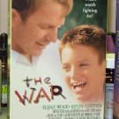 THE WAR VHS MOVIE STARRING KEVIN COSTNER ELIJAH WOOD DRAMA (B43)