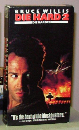 Die Hard 2 Die Harder Vhs Movie Starring Bruce Willis Bonnie Bedelia Comedy Action B43