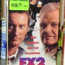 FX2 VHS MOVIE STARRING BRYAN BROWN BRIAN DENNEHY COMEDY THRILLER (B43)