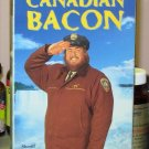 CANADIAN BACON VHS MOVIE STARRING JOHN CANDY ALAN ALDA RHEA PERLMAN KEVIN POLLAK COMEDY (B48)