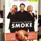 SMOKE VHS MOVIE STARRING WILLIAM HURT HARVEY KEITEL FOREST WHITAKER (B48)