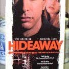HIDEAWAY VHS MOVIE STARRING JEFF GOLDBLUM CHRISTINE LAHTI ALICIA SILVERSTONE HORROR (B48)