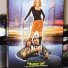 JUST VISITING VHS STARRING CHRISTINA APPLEGATE CHRISTIAN CLAVIER COMEDY (B49)