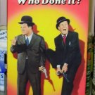 WHO DONE IT VHS STARRING BUD ABBOTT AND LOU COSTELLO COMEDY (B49)