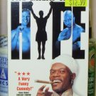 THE GREAT WHITE HYPE VHS STARRING SAMUEL L JACKSON DAMON WAYANS JEFF GOLDBLUM SATIRE (B49)