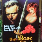 THE ROSE AND THE SWORD VHS STARRING RUTGER HAUER JENNIFER JASON LEIGH SUSAN TYRELL EPIC (B49)