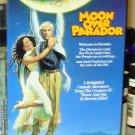 MOON OVER PARADOR VHS STARRING RICHARD DREYFUSS RAUL JUILA SONIA BRAGA COMEDY (B48)