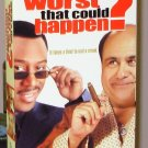 WHATS THE WORST THAT COULD HAPPEN VHS STARRING MARTIN LAWRENCE DANNY DEVITO COMEDY (B47)